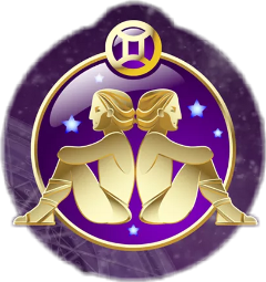 gemini horoscope logo freetoedit