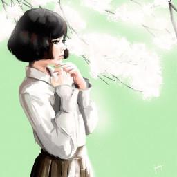 Anime anime mydrawing myart fanart