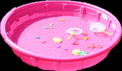 pink kiddiepool summer freetoedit