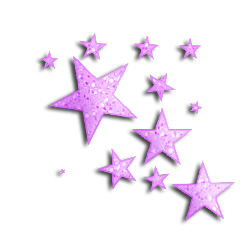 stars purple glitter freetoedit