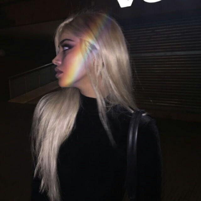 FreeToEdit rainbow tumblr girl aesthetic...