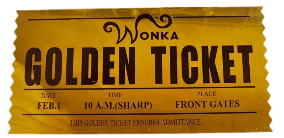 #willywonka #ticket #candy #FreeToEdit