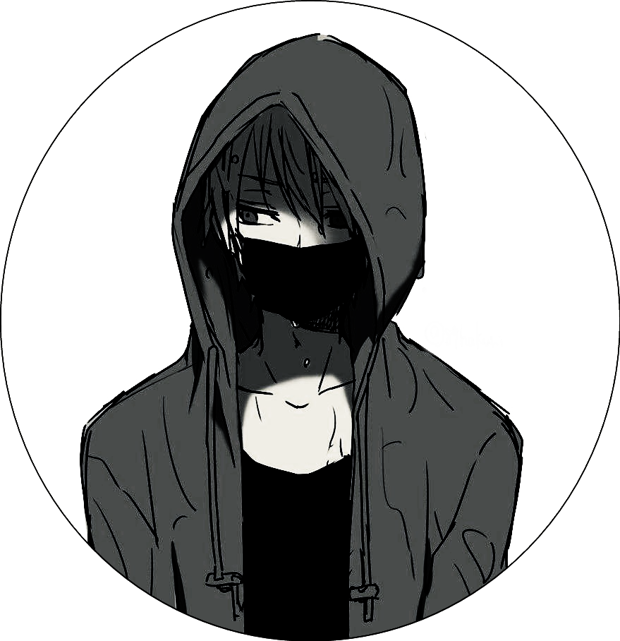 Anime In Mask: Image By Dunno