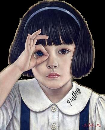 #menina