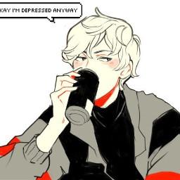 depressed itsokay donewithlife dead animeboy freetoedit