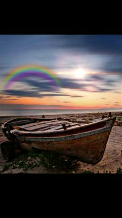 freetoedit repost boat colorful beach
