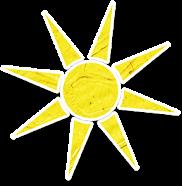 yellow sun texture sky scrapboi