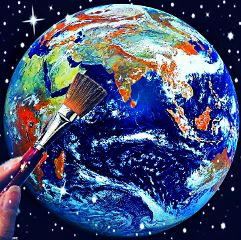 freetoedit earth paintbrush crispeffect