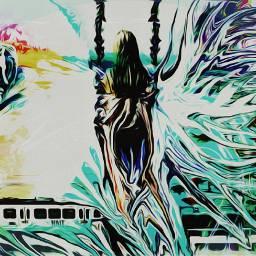freetoedit trainremix subrealism surreal surrealist