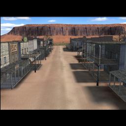 freetoedit ghost deserted desert western