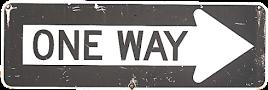 oneway sign freetoedit