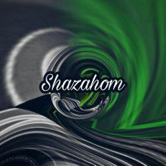 shazahom1 abstract coolart green mirrorart