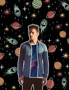 cosmic galaxy design art