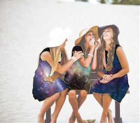 cosmic conversation girls fun happy