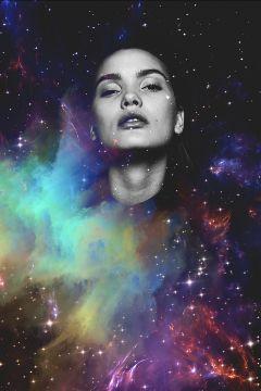 galaxy comsic starts planets portrait