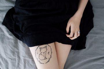 freetoedit girl tattoo people hand