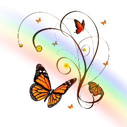 Create,a,colorful,butterfly,sticker,to,enter,today's,challenge!