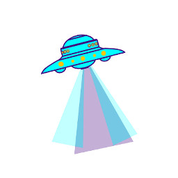 Create,a,UFO,sticker,for,today's,challenge!