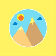 For,today's,challenge,,make,an,epic,mountain,sticker,that,everyone,can,use!