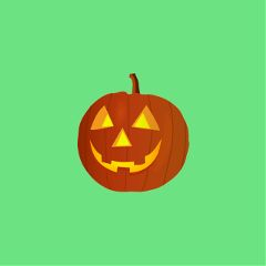 Carve,out,jack-o'-lantern,Stickers,using,our,Cutout,Tool,to,win,the,Challenge!