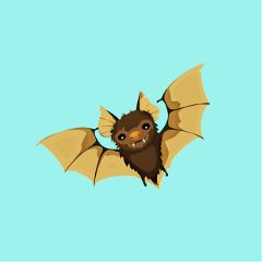 Use,our,Cutout,Tool,to,create,Stickers,of,bats,for,Halloween!