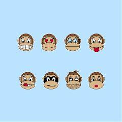 Create,winning,Stickers,of,#Monkeys,to,enter,today's,Sticker,Challenge!