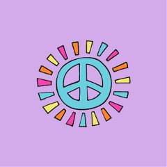 Spread,peace,and,love,by,making,peace,Stickers,to,win,the,gold!