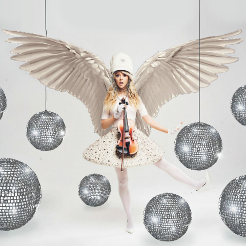 Lindsey photo edit with wings